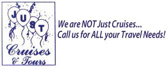 Just Cruises & Tours Inc. Logo